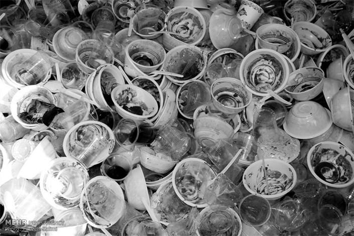 ظروف پلاستیکی ویکبار مصرف نذری