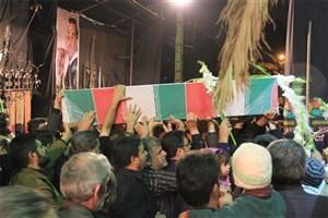 برگزاری مراسم تشییع پیکرهای مطهر دو تن از شهدای مدافع حرم