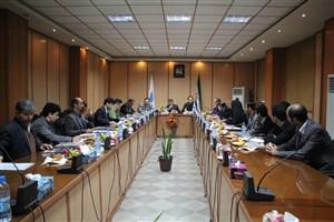 جلسه شورای پژوهشی واحد ها و مراکز آموزشی دانشگاه آزاد اسلامی استان گیلان برگزار شد