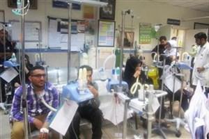 مراجعه بیش از ۱۱ هزار بیمار تنفسی به بیمارستانهای خوزستان