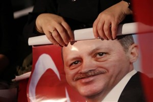 نخستوزیر ترکیه: اردوغان رهبر افسانهای حزب عدالت و توسعه است