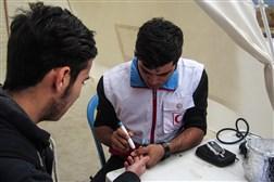 طرح پایش سلامت کانون هلال احمر دانشجویی دانشگاه آزاد اسلامی پردیس