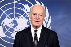 دیمیستورا: نیاز به راه حل سیاسی فراگیر در سوریه شامل مشارکت شرکای منطقهای است