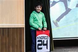 حراج پیراهن هادی نوروزی در حمایت از کودکان کانون اصلاح و تربیت