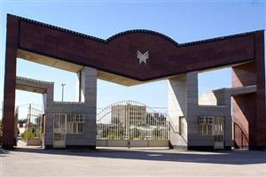 بازدید خزانه دار استان ایلام از دانشگاه آزاد اسلامی واحد ایوان غرب