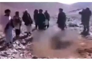 ویدیو / صحنه سنگسار دختر افغان توسط داعش