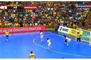 ویدیو / گل های بازی : برزیل ۴ - ۳  ایران ( فینال )