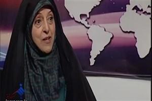 ویدیو / از توضیحات خانم ابتکار در مورد همسرش تا پاک کردن شعار مرگ بر آمریکا در مشهد