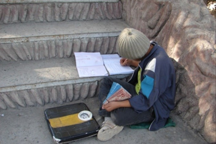 درس خواندن کودکان کار