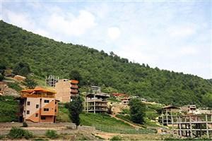 تخریب ۱۲ بنای غیرمجاز در روستای زیارت گرگان