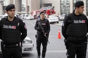 درگیری پلیس ترکیه با معترضان خارج از دانشگاه کوجایلی
