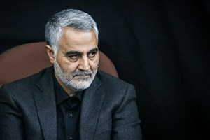 سردار سلیمانی درگذشت پدر شهیدان حسنی تسلیت گفت