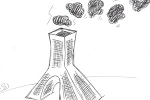کیفیت هوای تهران ازاوایل هفته در شرایط ناسالم/آلودگی هوامیدان دیدتهران رابه یک سوم کاهش داد