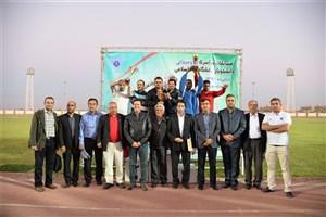 پایان مسابقات دوومیدانی دانشگاه آزاد اسلامی با معرفی نفرات برتر و اهدای جوایز + عکس