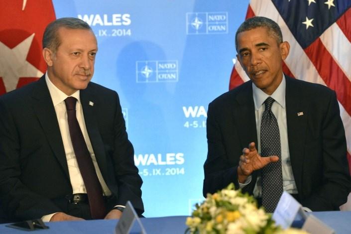 باراک اوباما و رجب طیب اردوغان