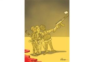 گروه های تروریستی و عکس سلفی