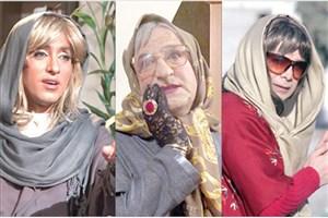 بازیگران مردی که لباس زنانه پوشیدند+ عکس