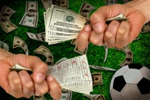 شرط بندی فوتبالی 25 میلیونی دریک سایت غیرمجاز