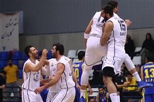 پیروزی مقتدرانه تیم بسکتبال دانشگاه آزاد اسلامی برابر آینده سازان اصفهان