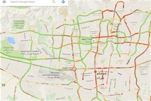 Tehran Traffic goes Online in Google Maps