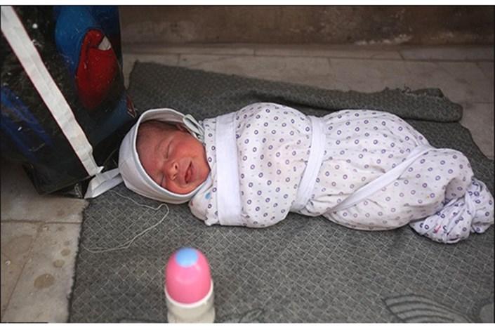 نوزاد رها شده