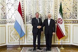 دیدار وزرای خارجه لوگزامبورگ و ایران