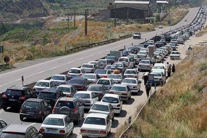 ترافیک محور ایلام مهران