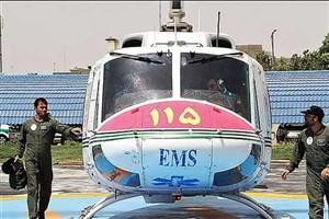 آمادگی اورژانس برای پوشش مراسم 22 بهمن/آماده باش اورژانس هوایی در راهپیمایی