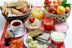وعده صبحانه مهمترین بخش هرم غذایی