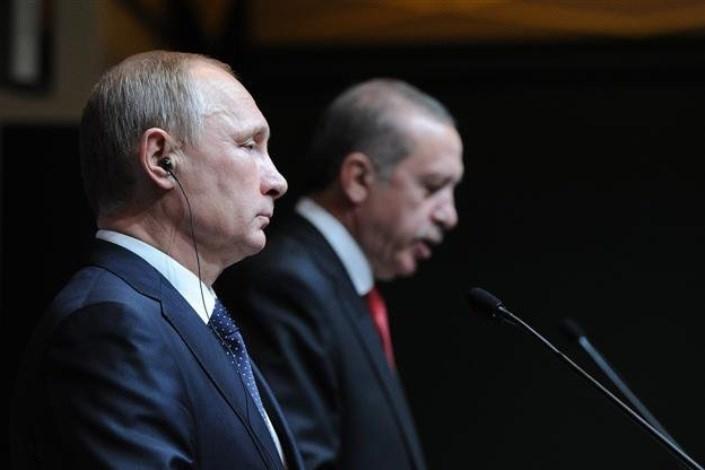 رجب طیب اردوغان و ولادیمیر پوتین