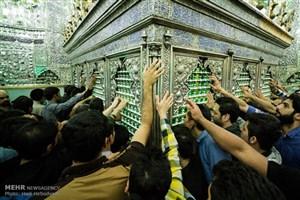 جاماندگان کربلا در حرم حضرت عبدالعظیم/شکوه حماسه تهرانی ها