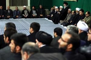 برگزاری مراسم عزاداری اربعین حسینی با حضور هیئتهای دانشجویی در حسینیه امام خمینی+تصویر