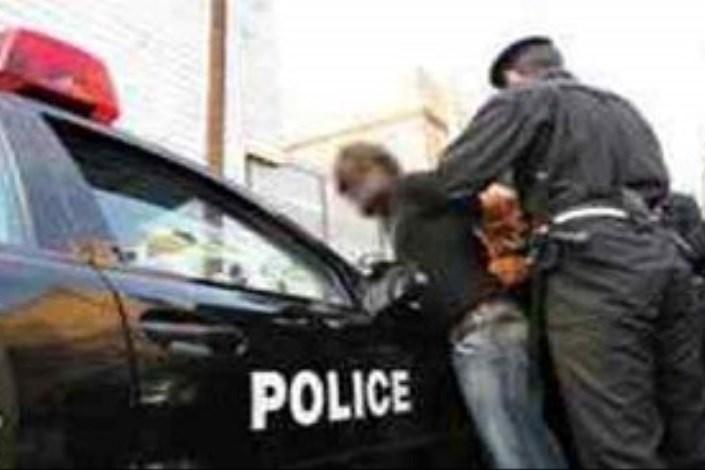 دستگیری  سارق حرفه ای