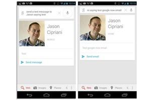 نسخه جدید گوگل ناو پیامکها را برایتان میخواند تا به آنها پاسخ دهید