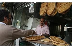 متوسط مصرف سرانه روزانه نان در کشور ۳۱۰ گرم است