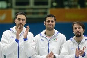 استقبال رسمی سرمربی تیم ملی آمریکا از شمشیربازان ایران
