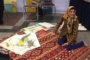 دختران استثنایی در مترو تهران نقاشی می کنند