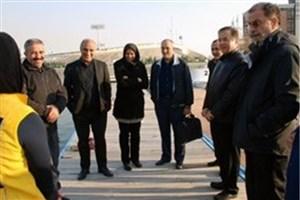 رئیس کمیته ملی پارالمپیک از فدراسیون قایقرانی بازدید کرد