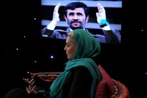 سحر قریشی:احمدی نژاد کاریزما دارد/ از اینکه روحانی زبان انگلیسی بلد است خوشحالم