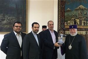 رهبر ارامنه جهان در دیدار با رییس سازمان فرهنگی هنری شهرداری : گروههای افراطی در حال جنگ با خداوند هستند