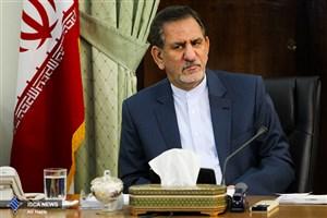 جهانگیری از  طرح آبرسانی سد جگین به جاسک بهره برداری کرد/ایران کانون امنیت است و دنیا  این را پذیرفته است