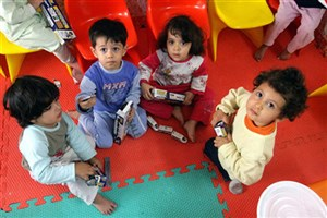فقط 25 درصد کودکان ایرانی به مهدکودک می روند