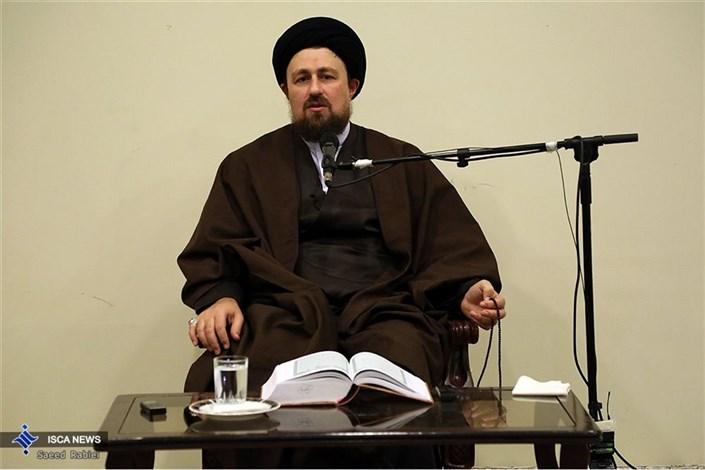 دیدار هیئت های مذهبی دانشگاه آزاد اسلامی با آیت الله سید حسن خمینی