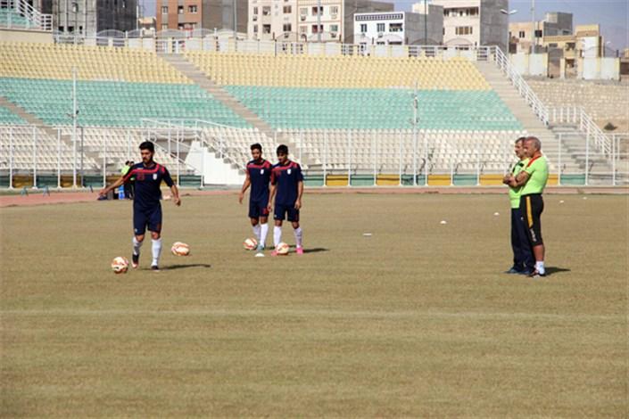 گزارش تمرین امروز تیم فوتبال امید در بندرعباس