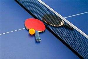 رقابت ورزشکاران دانشگاه آزاد اسلامی در انتخابی تیم ملی تنیس روی میز