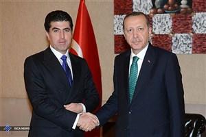 بارزانی با اردوغان و داوود اوغلو در آنکارا دیدار میکند
