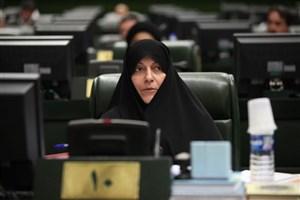 واکنش فاطمه رهبر به  برگزاری همایش  حضور حداکثری بانوان شمیرانات در مجلس