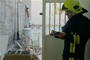 آبگرمکن گازی موجب انفجار یک واحد مسکونی در مشهد شد