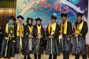 سومین جشن دانش آموختگی دانشجویان شاهد /قنبری: نقش دانشگاه آزاد اسلامی در توزیع توسعه ی کشور بسیار موثر است
