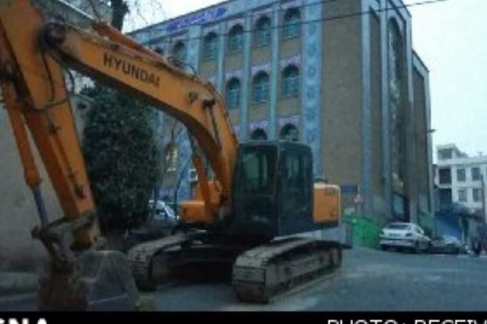 تخریب  دیوار مدرسه